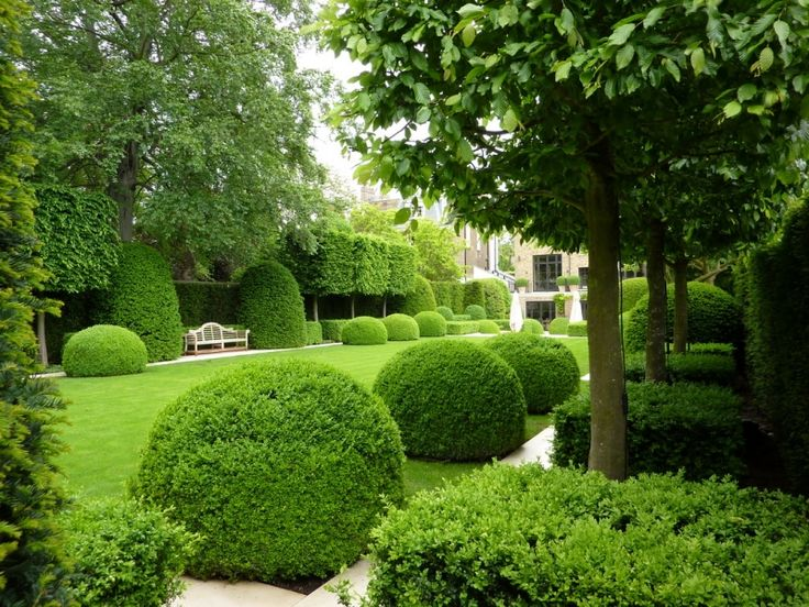 Holland Park garden in London by del Buono Gazerwitz Landscape Architecture