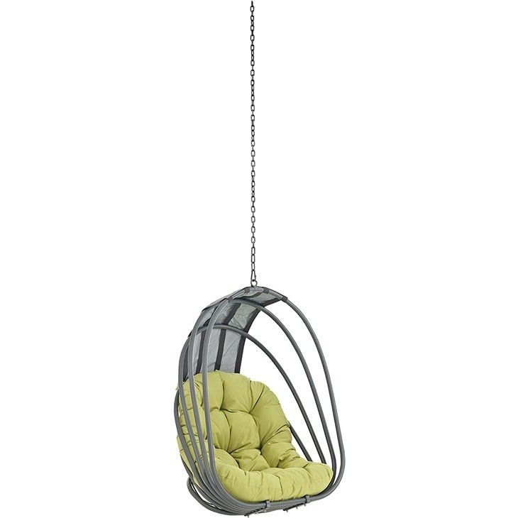 Modway Furniture Modern Whisk Outdoor Patio Swing Chair Without Stand