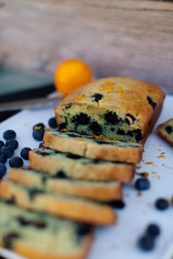 Blueberry Orange Bread (try GF): Sweet Breads, Blueberries Food, Yummy ...