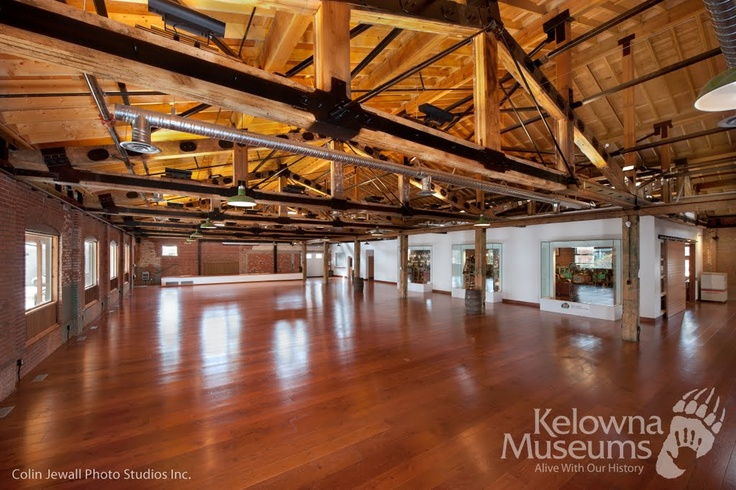 The Laurel Packinghouse - Rental Facility for the Kelowna Museums Society.