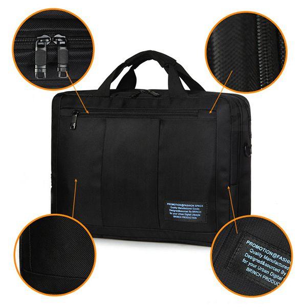 Men Oxford Multifunction Business Bag Laptop Bag Handbag Computer Backpack