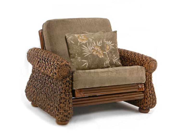 Wicker Futon Home Decor