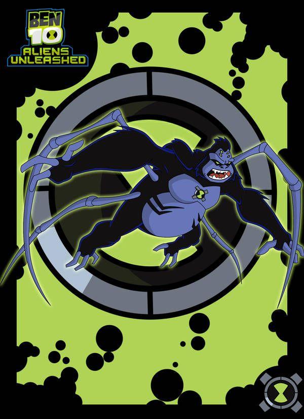 Ultimate Spidermonkey By Illuminate01 Ben 10 Ben 10 Ultimate Alien Ben 10 Alien Force