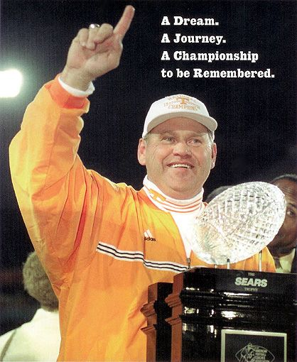 Tn Vols Football Championship in 1998