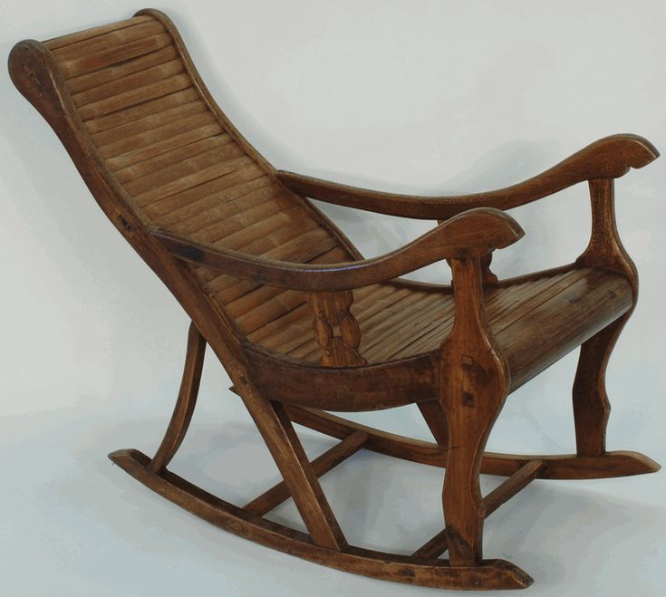 Antique Asian Furniture: Rocking Chair from China
