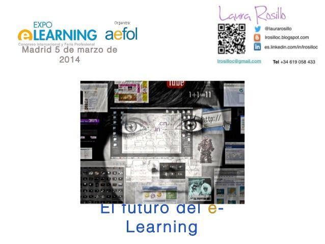 Futuro de e-learning, presente y futuro a través de un uso responsable