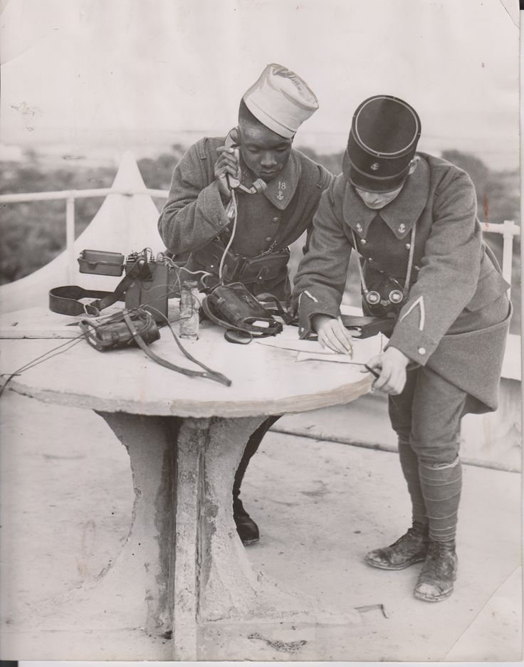French Colonial Troops 1939