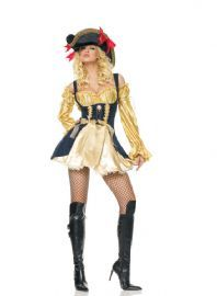 Marauder's Wench Pirate fancy dress Costume