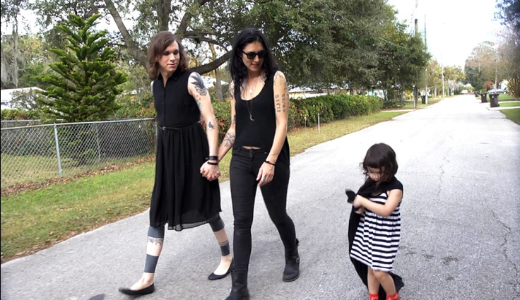 Laura Jane Grace and her wife, Heather Gabel. | MTV Photo Gallery#7714475#7714475