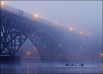 The Schuylkill River, Philadelphia, PA