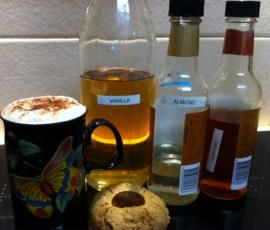 Recipe Flavoured coffee syrup by d2567 - Recipe of category Drinks
