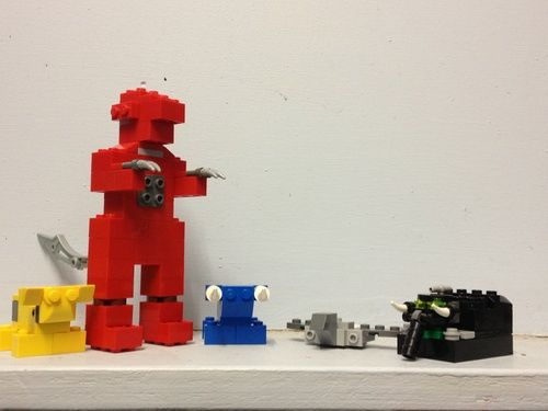 Mighty Morphin Power Rangers Megazord: A LEGO® creation by ...