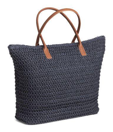 Shopper   Dark blue   Ladies   H&M US