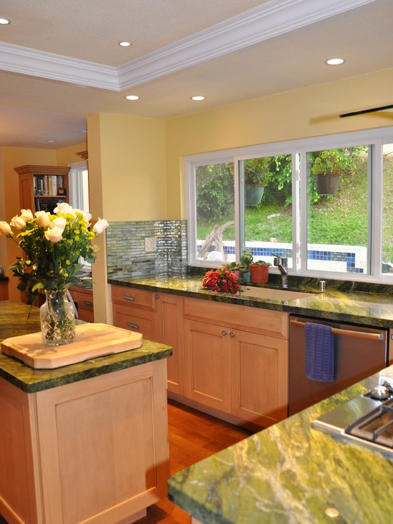 Contemporary Kitchen Replacing Fluorescent Lights Design Pictures Remodel Decor And Ideas Page