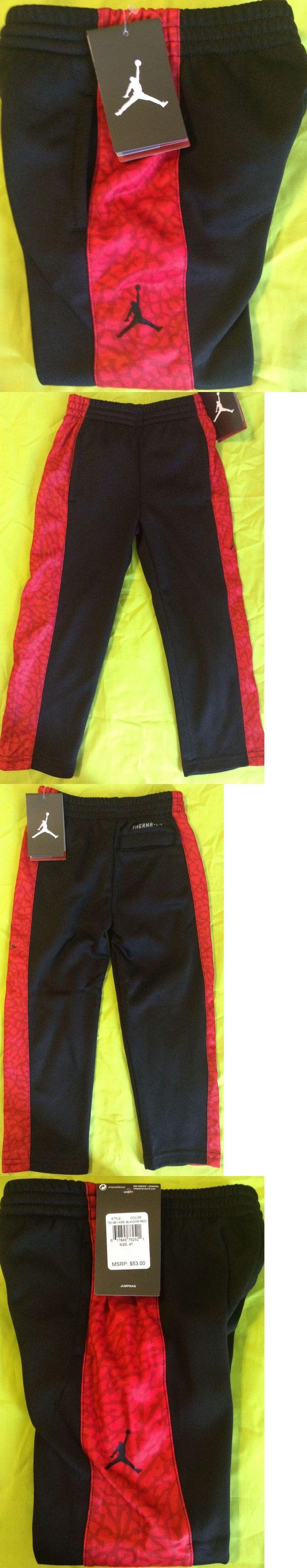 Michael Jordan Baby Clothing: Boys Nwt Michael Jordan Sweat Pants W Pockets Med Red Black $53 -> BUY IT NOW ONLY: $22.99 on eBay!
