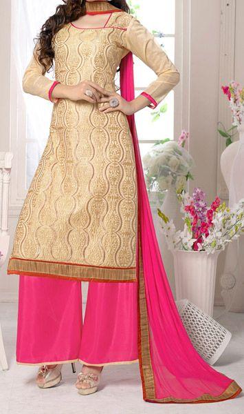 Designer Plazo Suit for Indian women Pakistani Palazzo Pant Long Shirt
