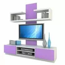 Panel Para Lcd - Modular Rack - Cajonera Mesa Tv Organizador