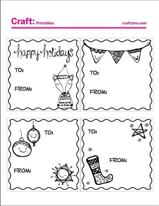 Ярлыки для новогодних подарков: как креативно подписать подарки