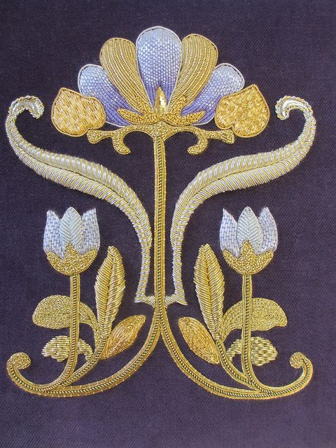 Diane T by Royal School of Needlework @ Hampton Court Palace, via Flickr