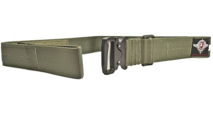 Tactical Assault Gear Cobra Buckle Riggers Belt, Medium 32-34in, Ranger Green 831152