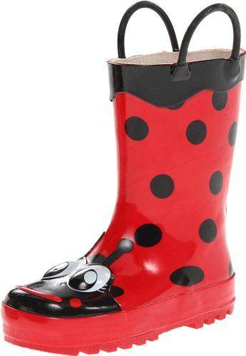 Western Chief Kids Ladybug Rain Boot(Toddler/Little Kid/B…