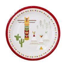 Pow Wow plates - Favor Lane