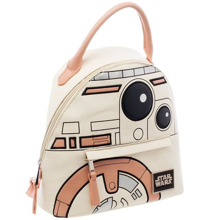 Adorable Star Wars BB8 Mini Backpack!