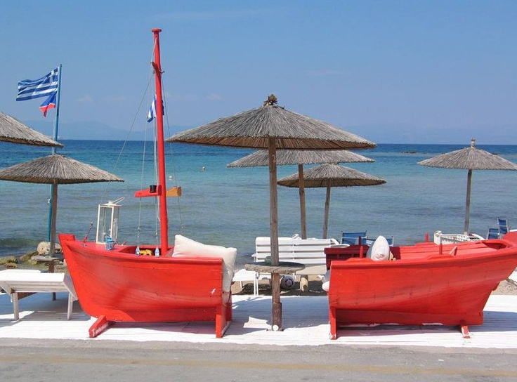 Avra beach, Aegina