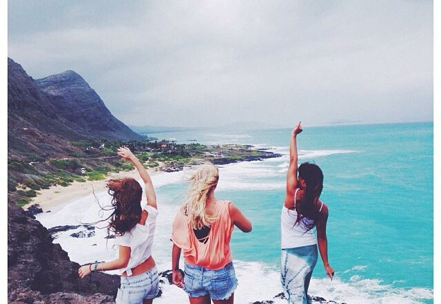 Yeah Finally summer. Enjoy on a white beach... Looking over the blue waters. I love the summer ღ :) All this with my best friends:) (Showy Pictures)
