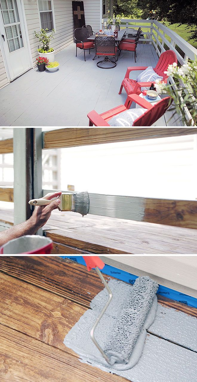 Here's the easy way to restore the look and feel of your wooden deck. No sanding! This also works to improve the look of your cement patio. We have the step-by-step instructions on how to use Restore 10x Advanced on The Home Depot Blog.
