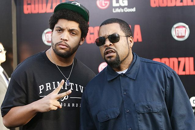 Rapper Ice Cube's actor son O'shea Jackson Jr. has reportedly been cast to play his famous father in the upcoming N.W.A. biopic, Straight Outta Compton. (Photo: Michael Tran)