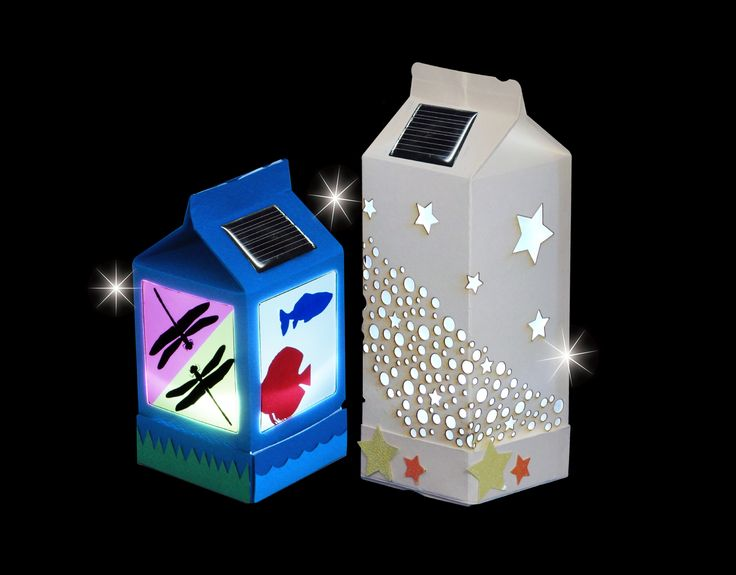 Solar Lantern - White LED version