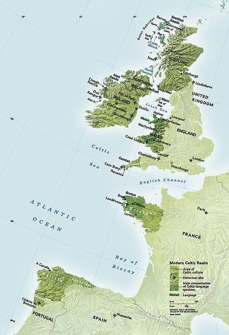 Celtic map