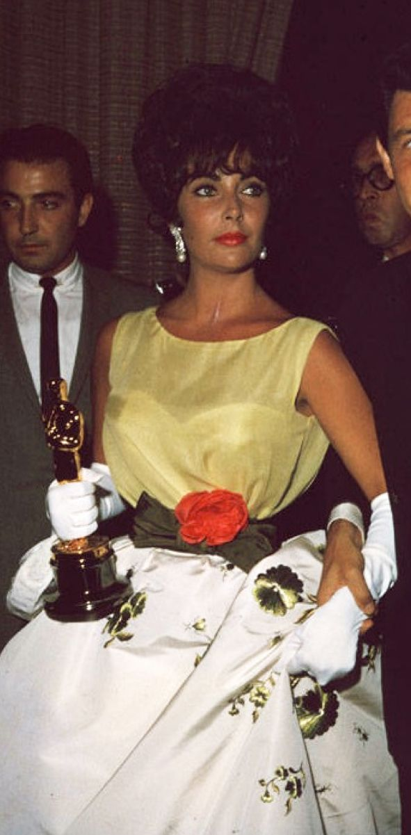 April 17, 1961 — At the 33rd Academy Awards, Elizabeth Taylor wins the Best Actress Oscar for Butterfield 8 (1960)