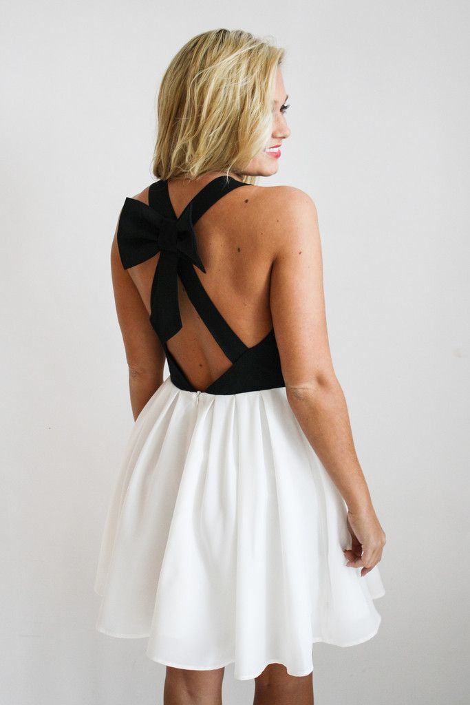 Bow Back Dress Gallery Boutique Gallerystyle Pinterest Clothes And Style