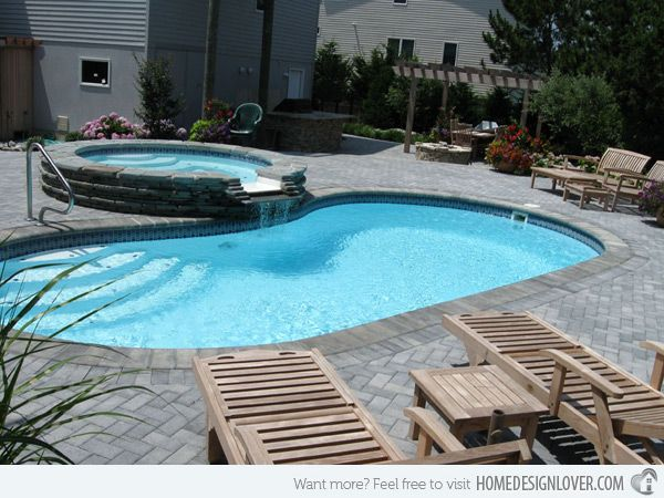 Lagoon Style Pool Designs creative custom pool 20 Exquisite Kidney Shaped Pool Designs