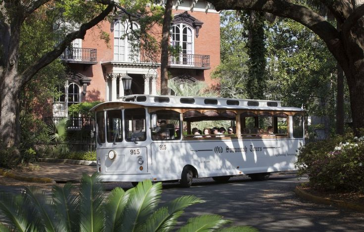 Old Savannah Tours offers a non scripted tour which means their tour guides do all they're own research and develop they're own tours! You get a better tour that way!