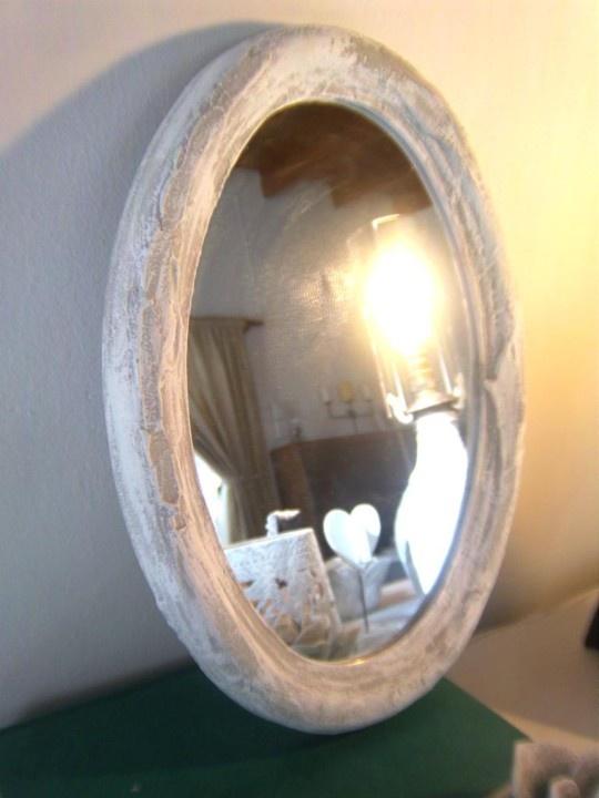 Pretty Oval Mirror