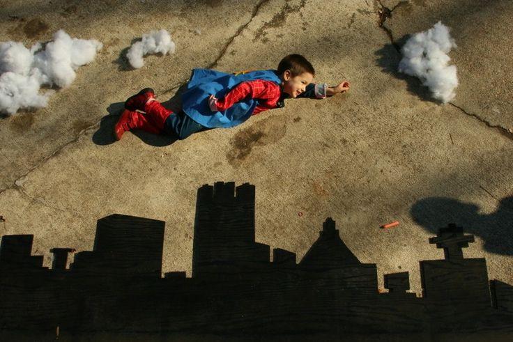4 year old superhero