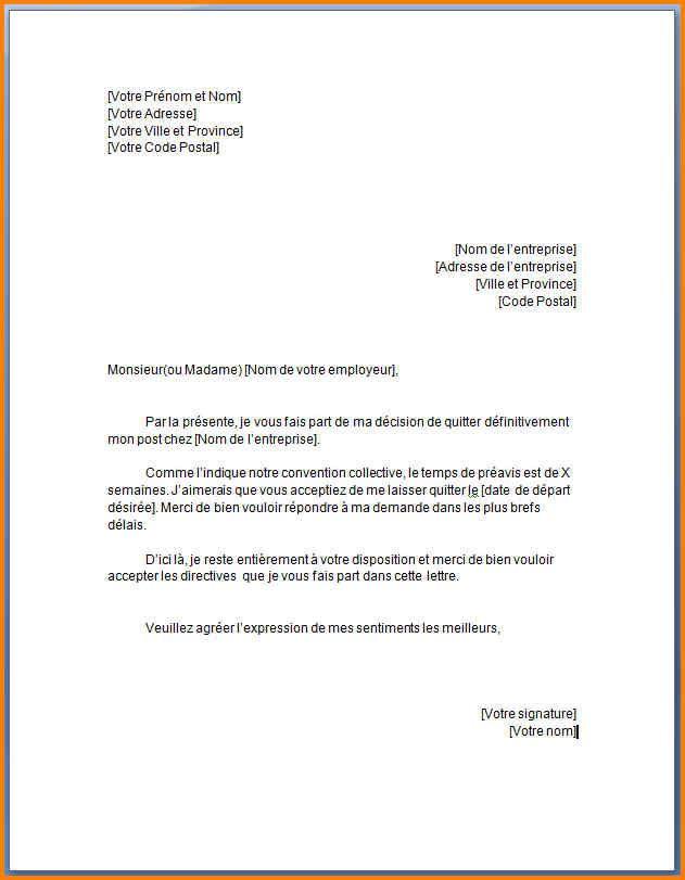 lettre administrative pour demande demploi