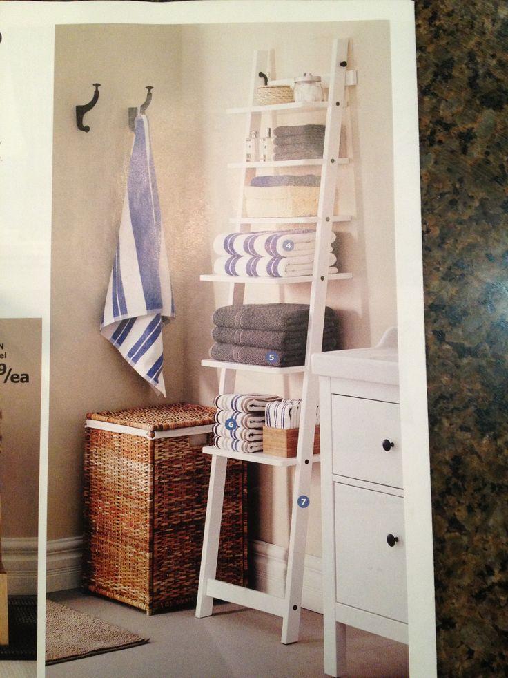 M s de 25 ideas incre bles sobre ikea ladder shelf en - Escalera decoracion ikea ...