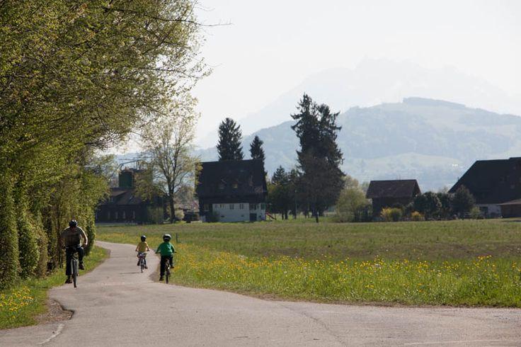 Bike Ride: Lorze River to Lake Zug