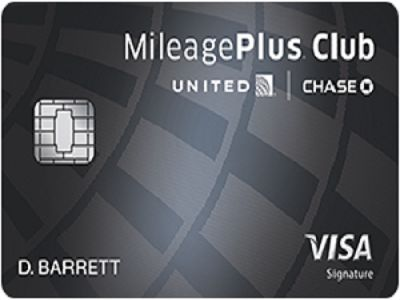 Chase Bank United MileagePlus Club Card
