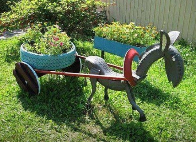 Garden Ideas With Tires 237 best reuse - recycle tires images on pinterest   recycled