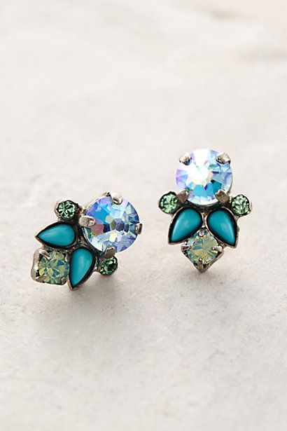 Peaseblossom Earrings #anthropologie