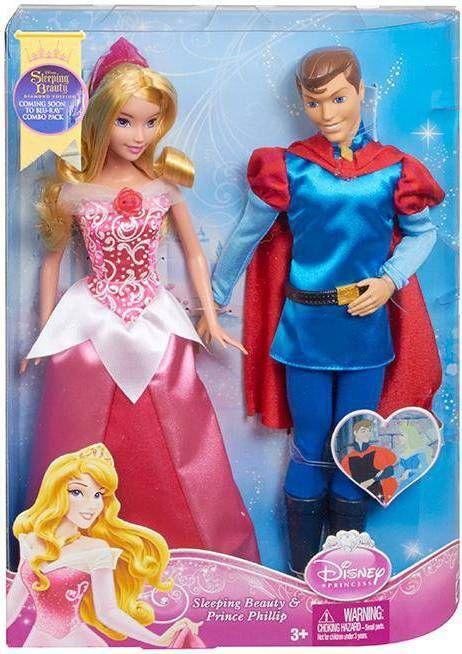 Mattel BMB71 Спящая красавица и принц Филипп