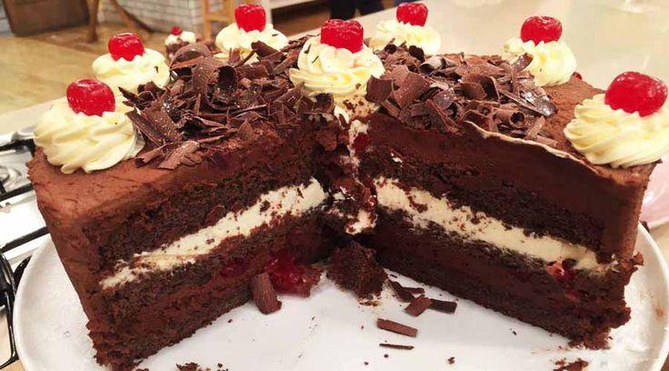 Torta selva negra de Cala