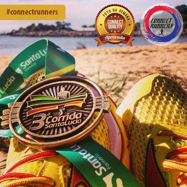 FOTO DA SEMANA: @jademusso  Tá lá!  #running #corrida #corridaderua #runners #run #runner #instarunners #corredor #corredores #correr #love #amor #calor #treino #vidasaudavel #saude #health #saudavel  #corridasantalucia #vitoria #es #camburi #iemanja #correrpelomundo #runnerscapixabas #medalha  Publiquem suas fotos com nossa hashtag para participar. #connectrunners  Veja também em nossa Fan Page: facebook.com/connectrunners