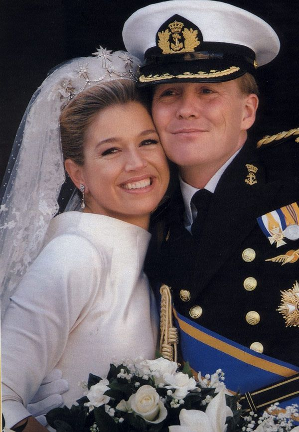 He will be King of the nederlands Prince Willem Alexander and his wife Maxima  as Queen Consort on April 30, 2013.