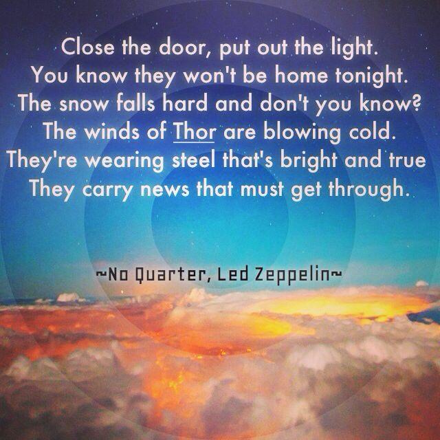 No Quarter - Led Zeppelin